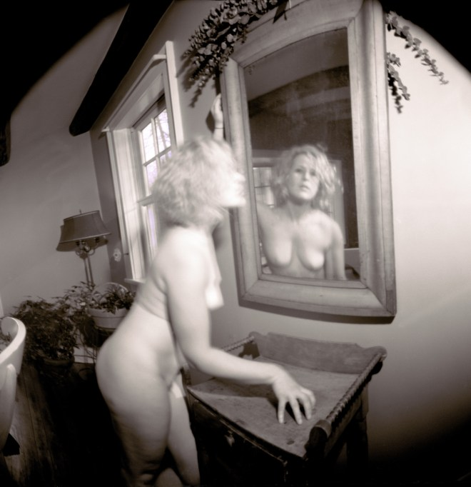 "Title:Anna_H_02-03-17--08AB Medium:	pinhole camera photography Size:	H 20.65"" x W 20.00"""