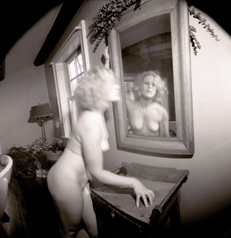 "Title:Anna_H_02-03-17--08AB Medium:pinhole camera photography Size:H 20.65"" x W 20.00"""