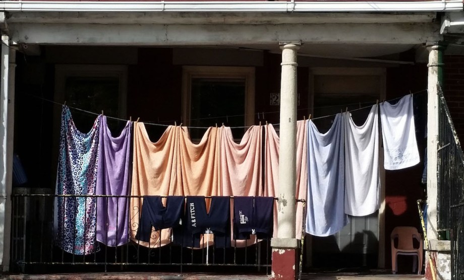 Title:Clothes line Medium:	Photography Size:	approx 8 by 10