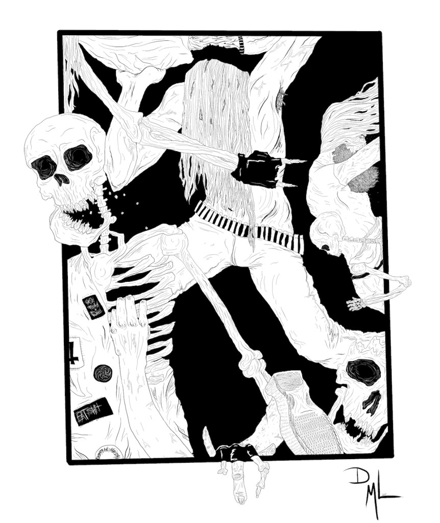 Title:Skeletal Mosh Medium:	Digital Size:	1684x2000
