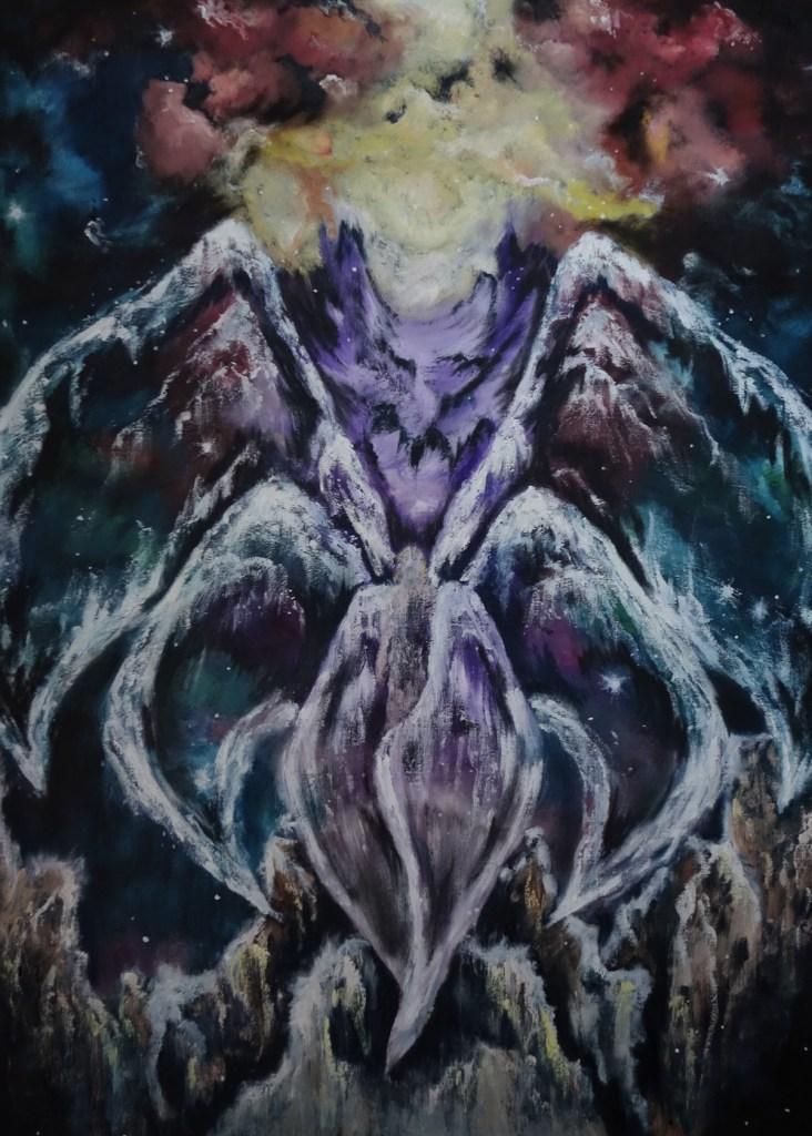 Title:Seraph Medium:oil Size:30 x 40
