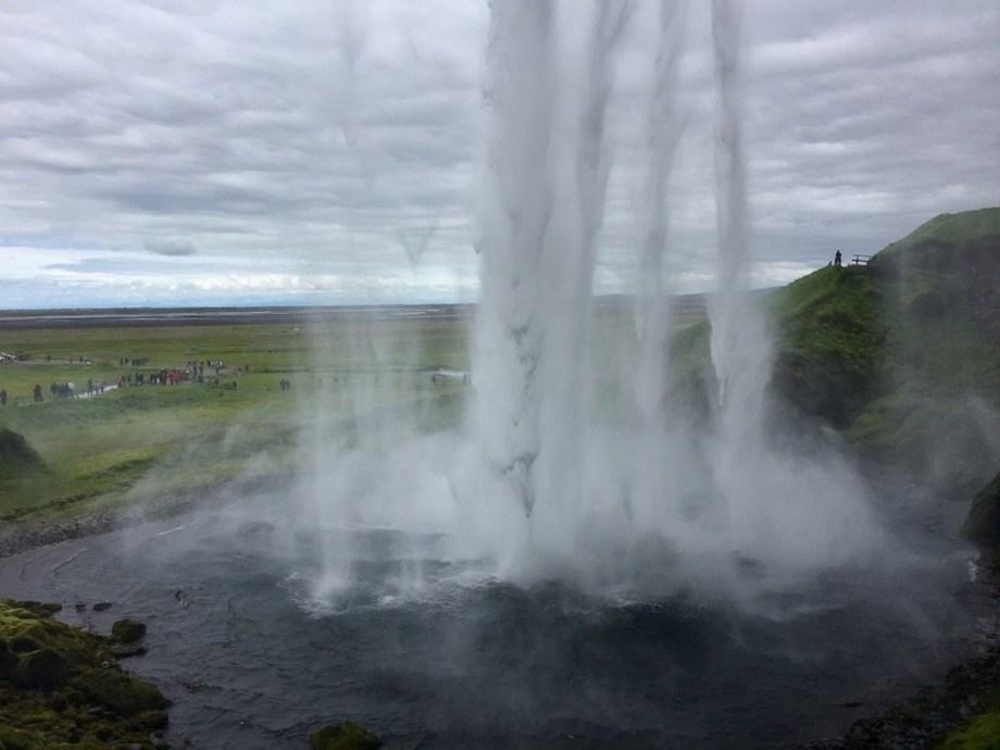 Title:BehindTheFall-Iceland Medium: Photography Size:0.45mb