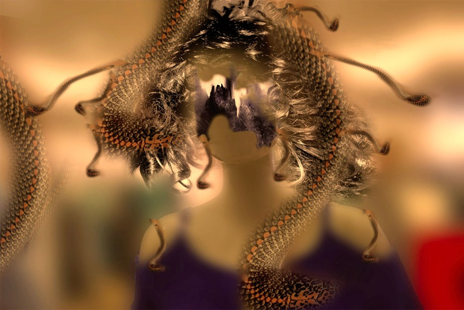 Title:Reptilian Dream Medium:	Digital Print Size:	11 X 14