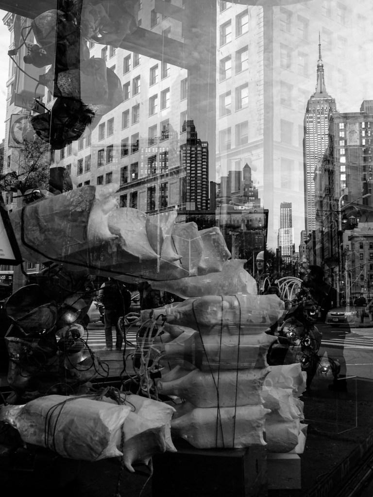Title:Reflections in Flatiron Medium:photography Size:12x16