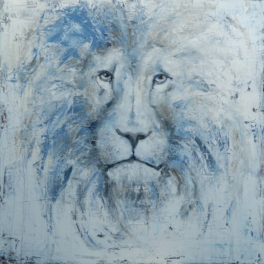 Title His Majesty Medium Oil Size 48x48