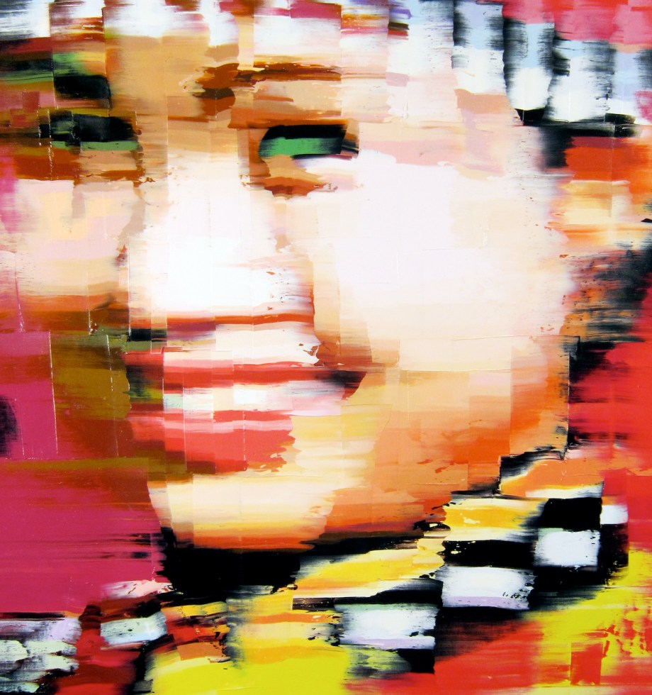 Title China Girl Medium Oil on canvas Size 19 x 20