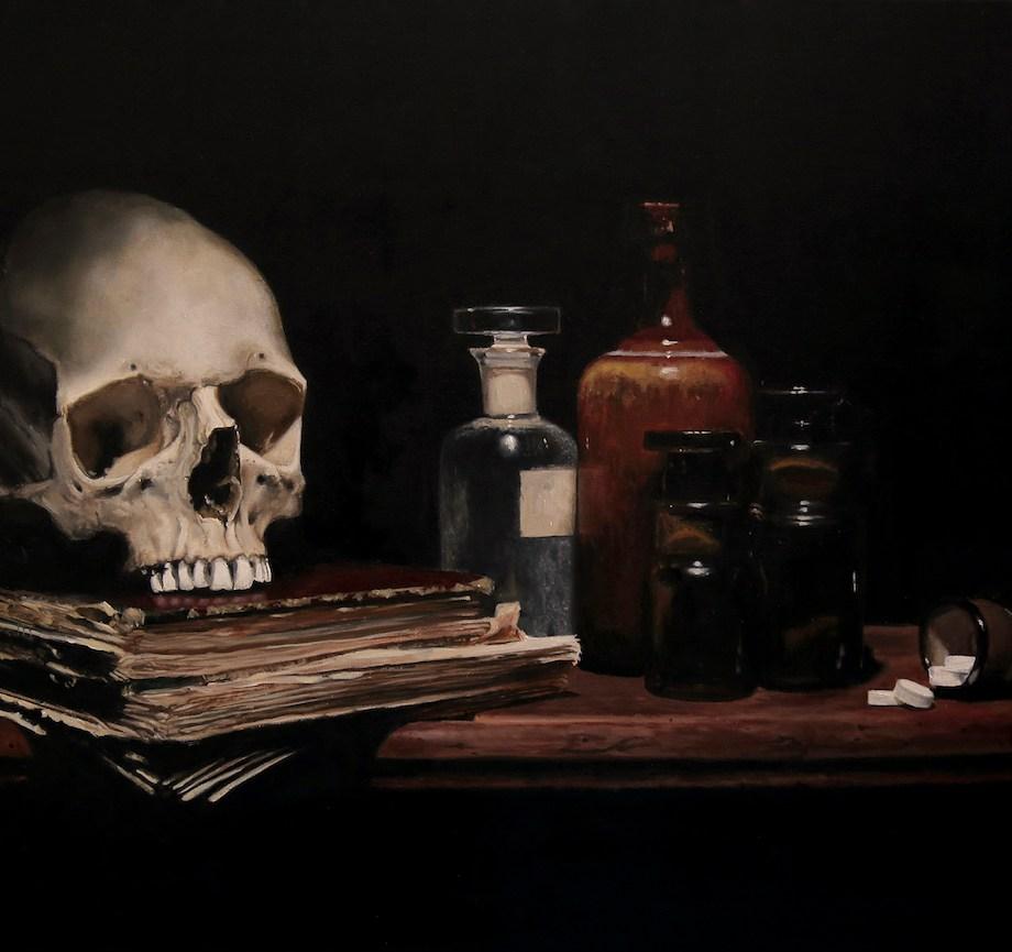 Title Anodyne For Sorrow Medium Oil Size 50 x 70 cm