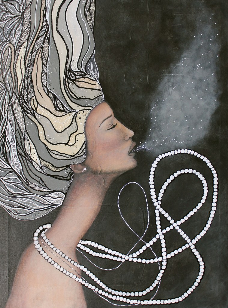 "Title Uplifted Medium Acrylic On Canvas Size 20""x27"""
