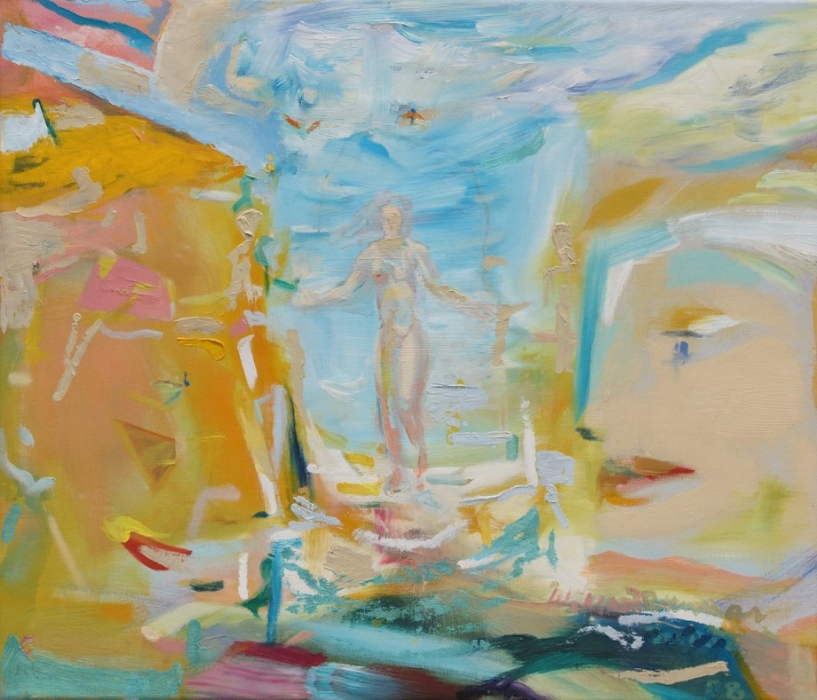 Title Venice Beach Medium Oil on canvas Size 60 x 70 x 2 cm