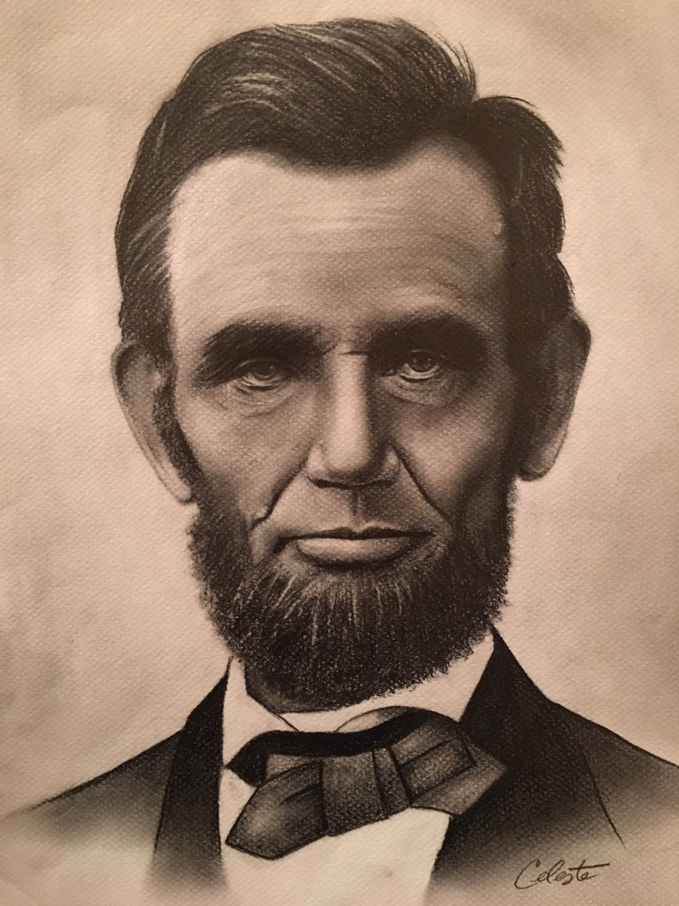 Title Lincoln Medium Graphite/Charcoal Size 12x16