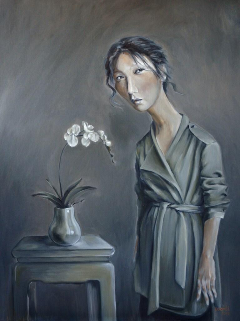 "Title Prospect Medium oil on canvas Size 40""X30"""