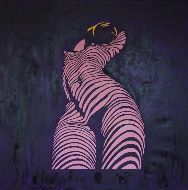 Title Pretty woman Medium Oil on canvas Size 90*90