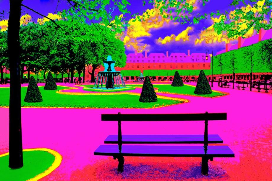 Title Place des Vosges Medium Photography based art Size 30x45