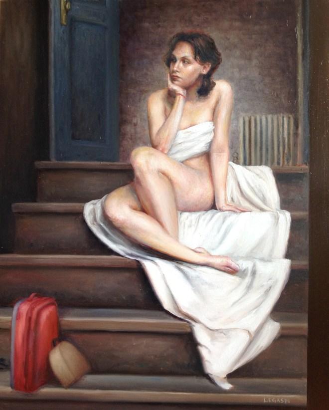 Title Flight of Broken Dreams Medium oil on canvas Size 16 x 20 inches
