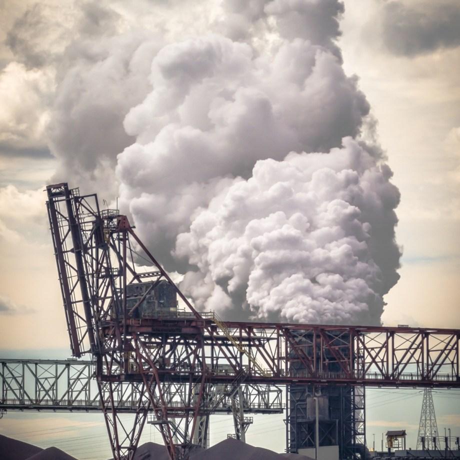 Title Cloud Factory No. 2 Medium Photograph on Aluminum Size 16x24