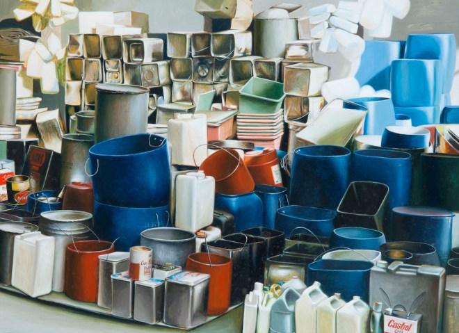 Title installation art Medium acrylic on artboard Size 38cm x 50cm