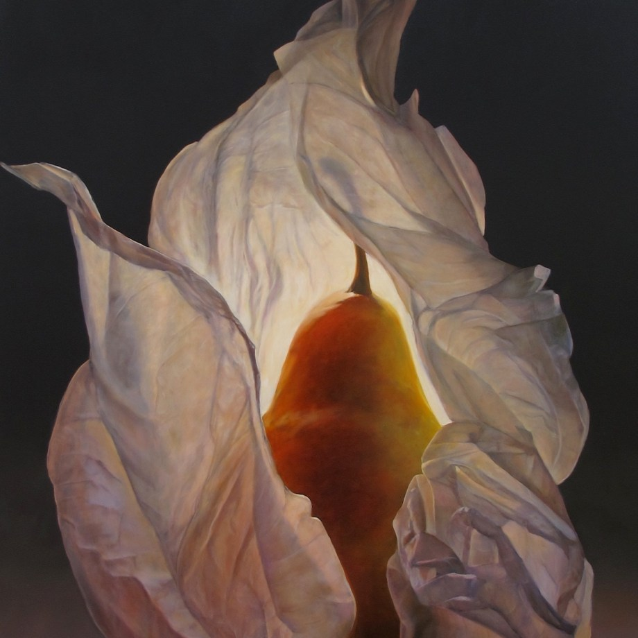 "Title Flame Medium Oil Size 48"" x 32""Title Flame Medium Oil Size 48"" x 32"""