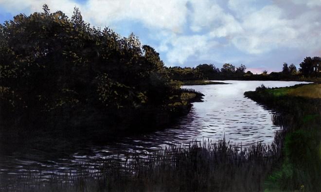 "Title Into the Kingdom Medium Oil on Canvas Size 36"" x 60"""