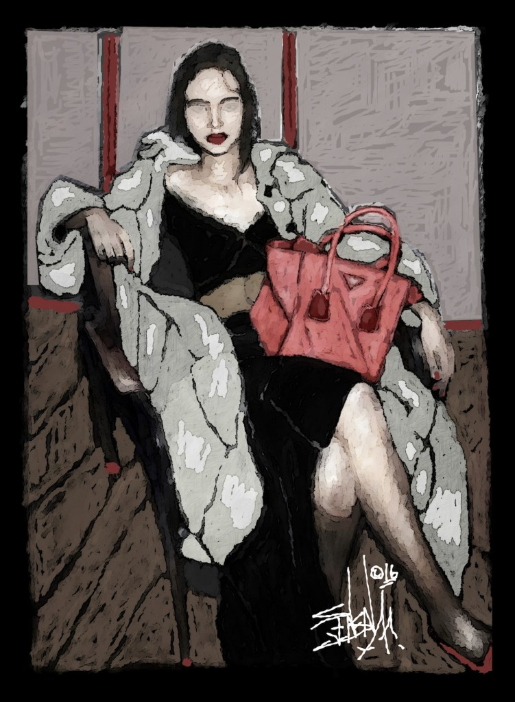 Title Red Bag Medium Digital Size 2112x2880