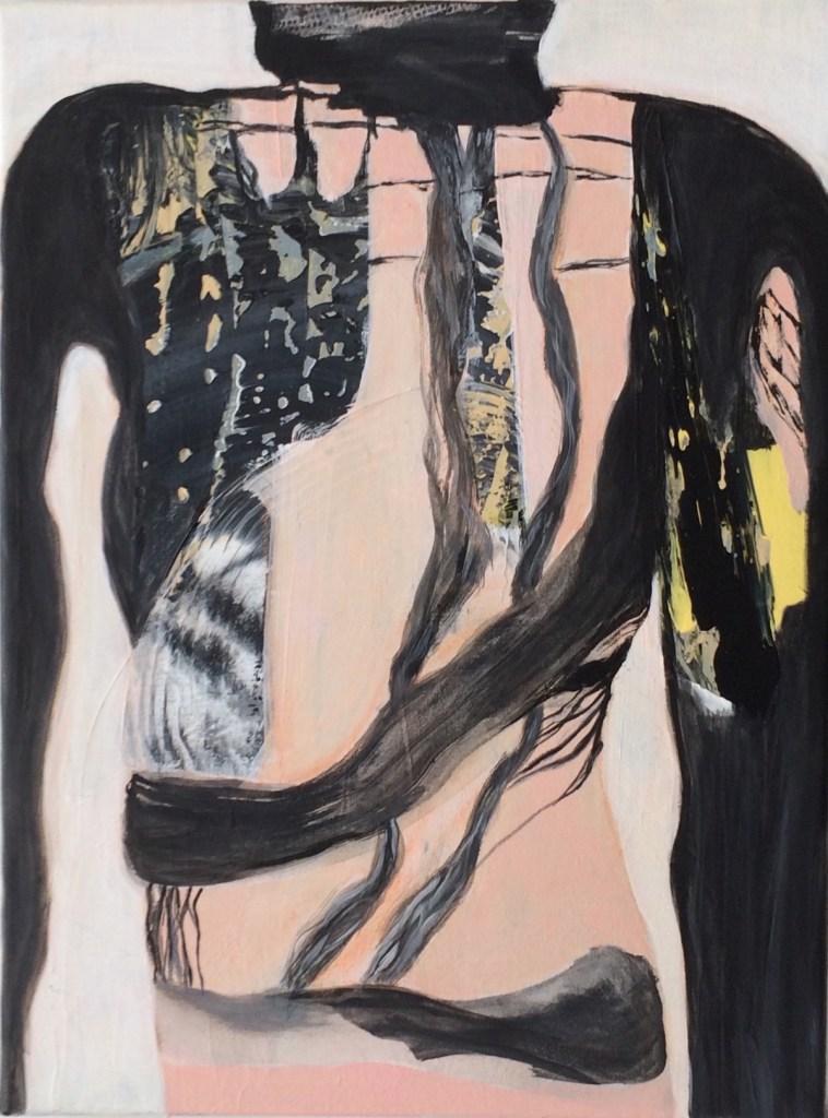 "Title untitled Medium acrylic on canvas Size 16""x12"""