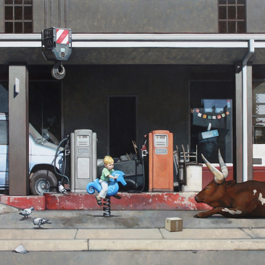 Title Embargo Medium oil on panel Size 33 x 42 inches