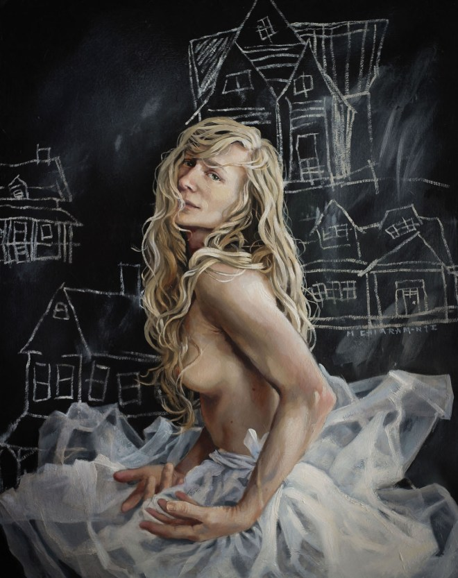 Title Homecoming Medium Oil on panel Size 20 x 16 inches