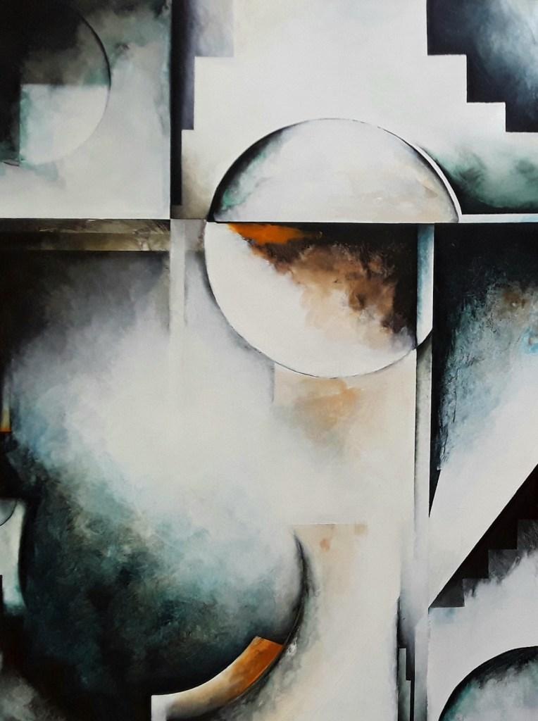 Title Tranquility Medium Acrylic on canvas Size 30x30x2