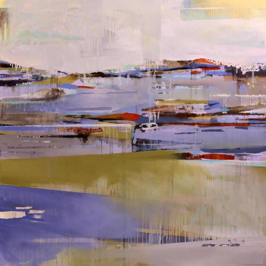 Title Elevate Medium Oil on canvas Size 47x47