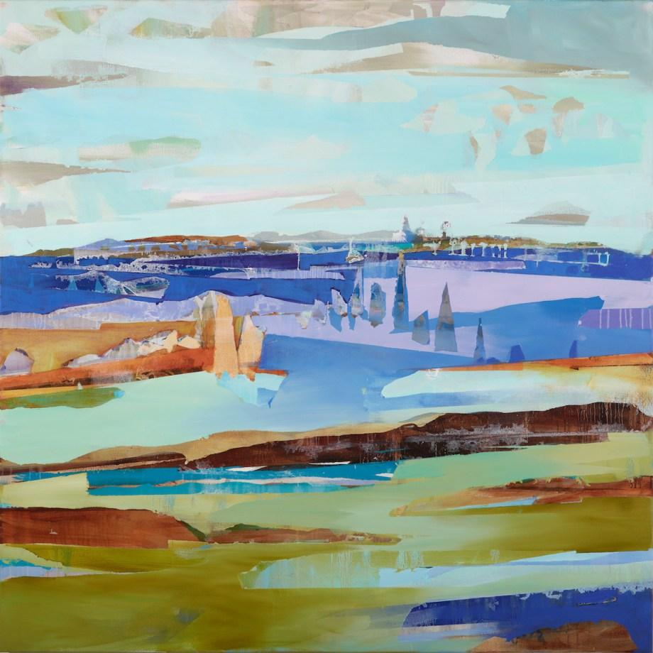Title Rivulet Medium Oil on canvas Size 60x60