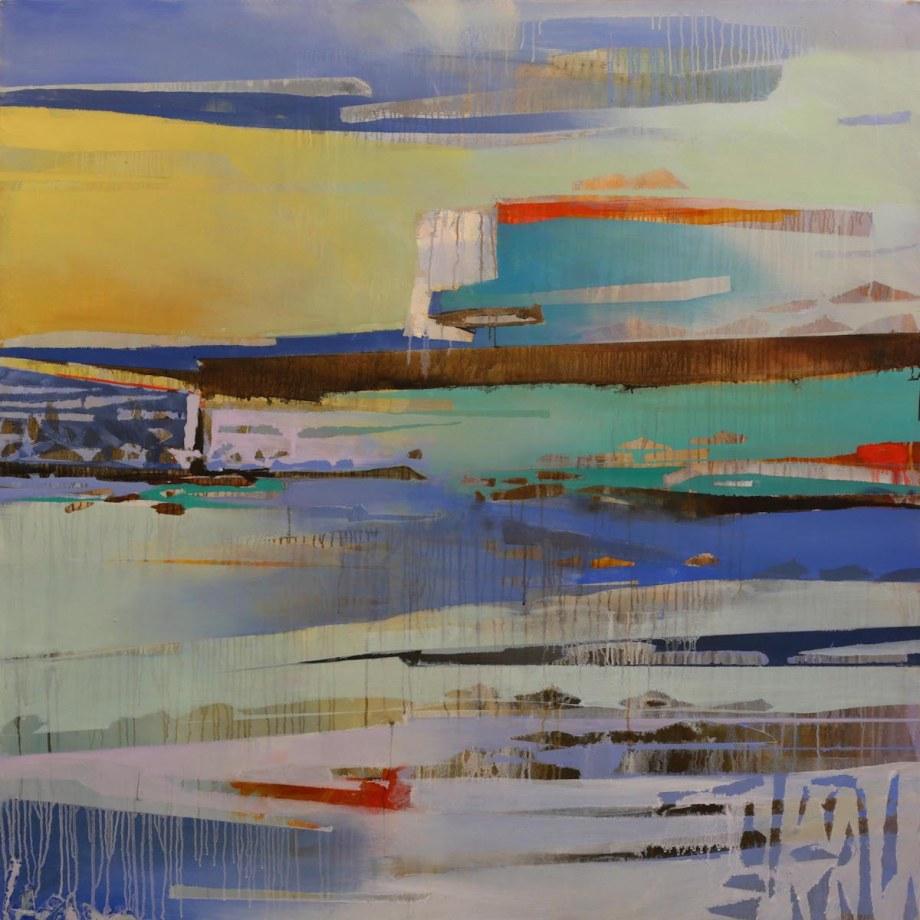 Title Landslides (3) Medium Oil on canvas Size 50x50