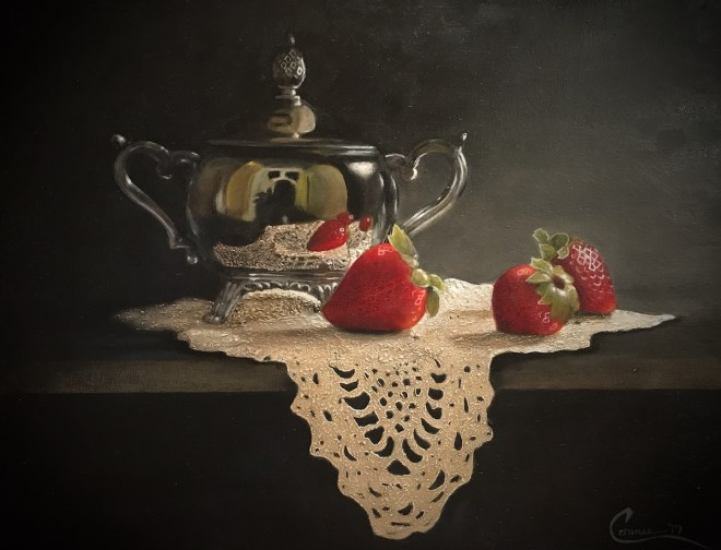 Title Sweet Moment Medium Oil on Canvas Size 11x14
