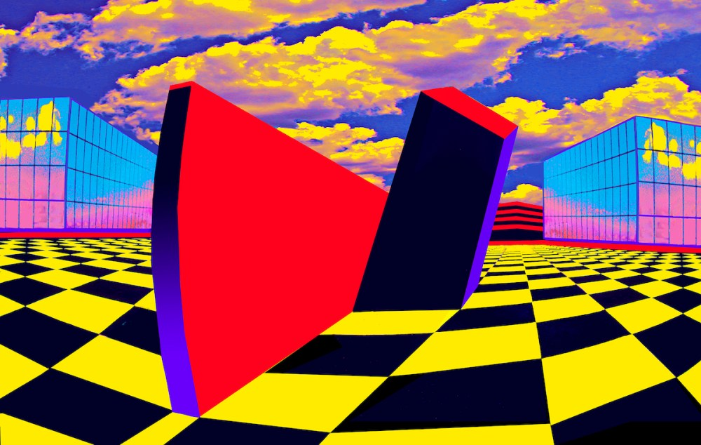 Checkerboard Square | photography enhanced with photoshop | 20x30