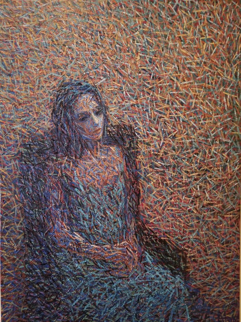 Woman 2 | Oil on Canvas | 40 x 30 x 1.0 in