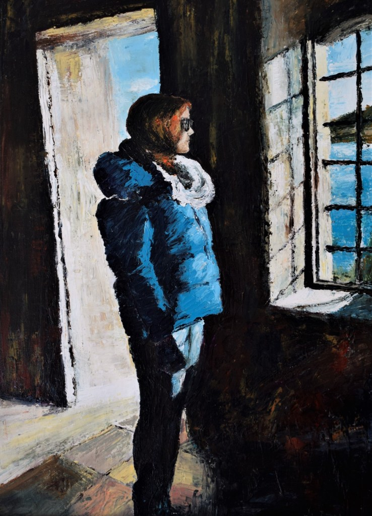 Memories... | Acrylic on canvas pallet knife | 50x70 cm