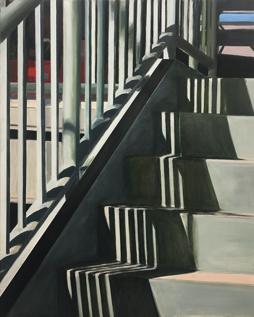 Five Steps | Oil on Panel | 20 x 16 inches