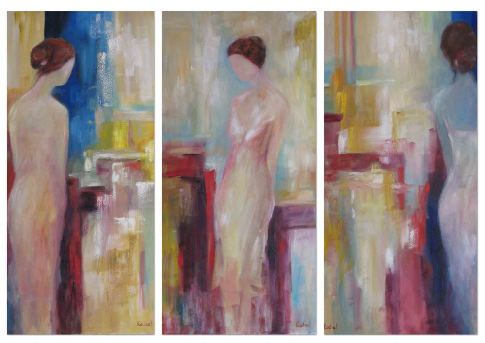 """Reflections Triptych 