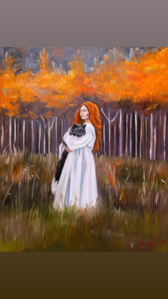 Vixen | Oil on canvas | 36 in by 24 in