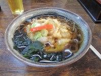 Soba noodles with prawn