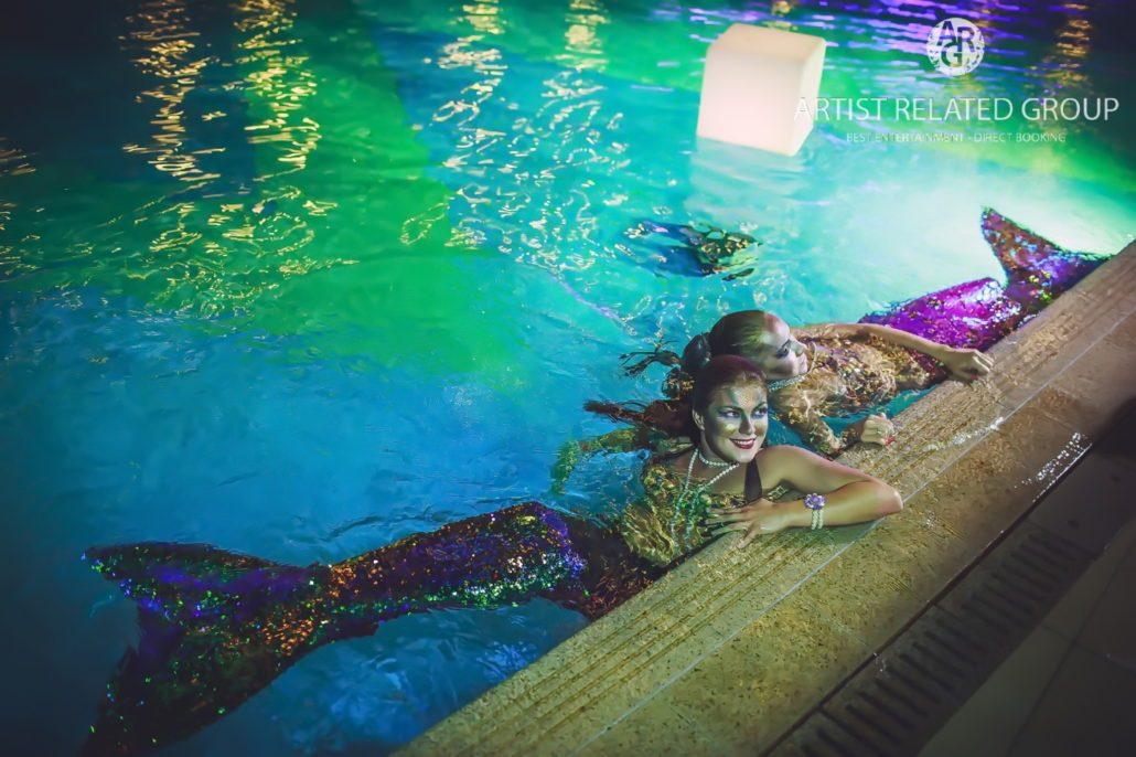 Mermaids in Dubai  Mermaid Performer  Unique Water Shows