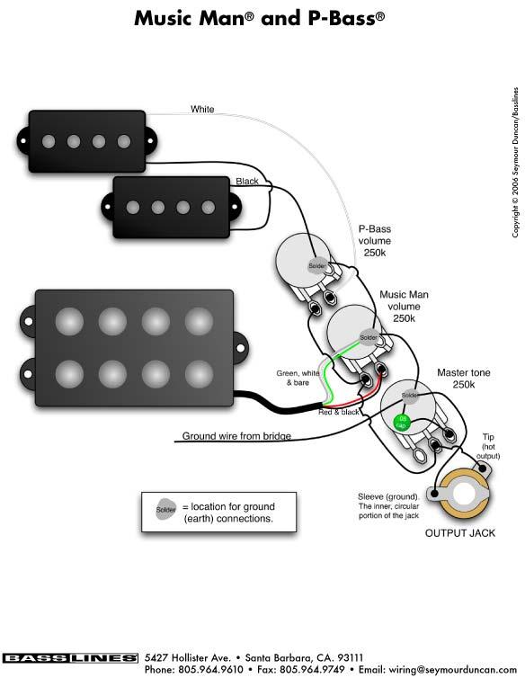 emg wiring diagram 81 85 bmw e30 m10 index of a pu bass images musicman pbass