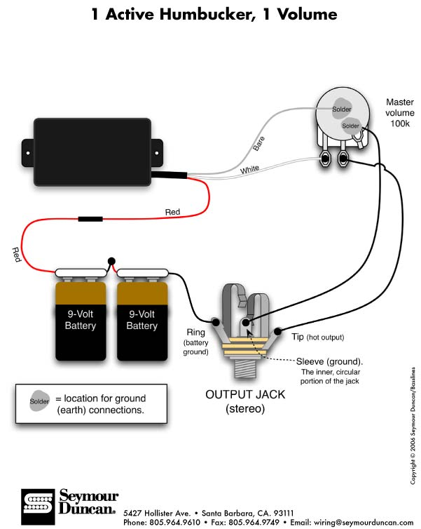 Split Wiring Diagram On As Emg Active Pickup Wiring Diagram Further 1