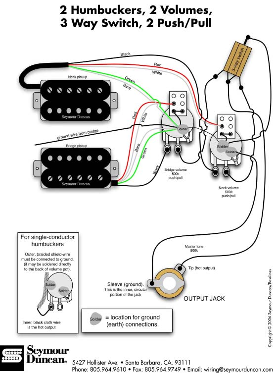 Fender Hss 1 Push Pull Volume 1 Tone Wiring Diagrams