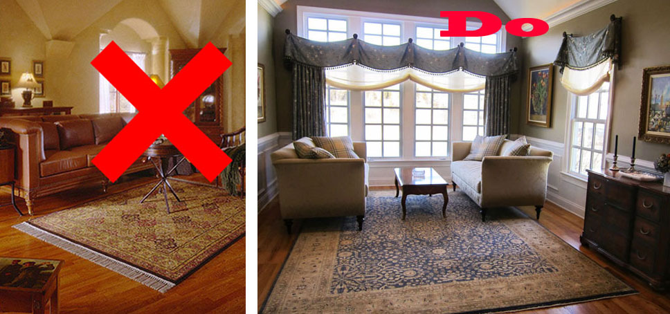 Size Matters – Area Rug Addition