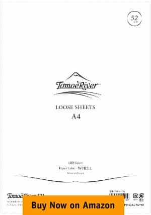 Tomoe River FP Loose Sheet (8.27 x 11.7 inches) A4 Size