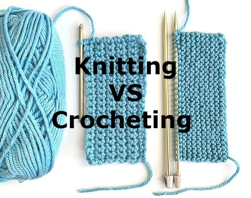 why knitting is better than crocheting