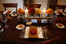 Thanksgiving Table Unique Food & Lifestyle Experience