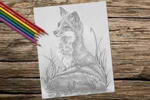 foxongrass_v2_8x10_color_onwood