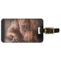 http://www.zazzle.com/brown_pitbull_face_drawing_of_pet_portrait_dog_luggage_tag-256737387067419609