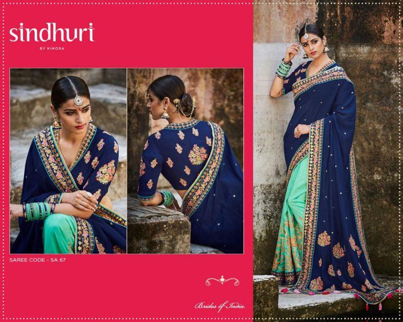 Kimora Sindhuri v5 Designer Sarees 67