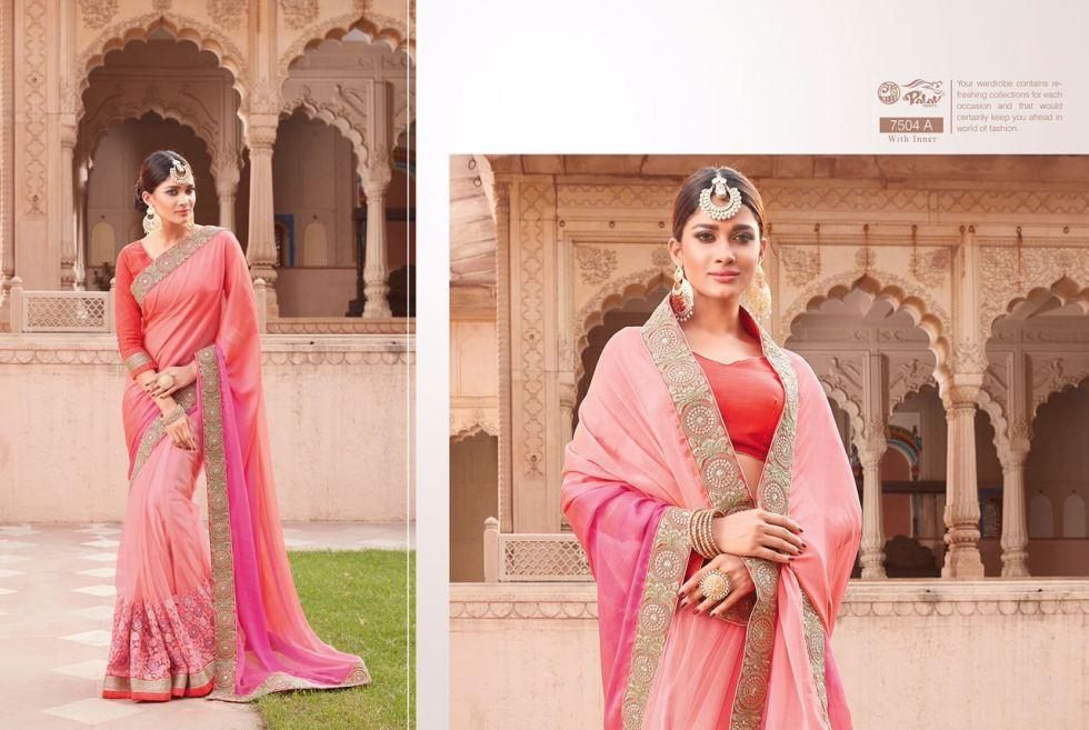 Palav Fabric Designer Saree PP7504A